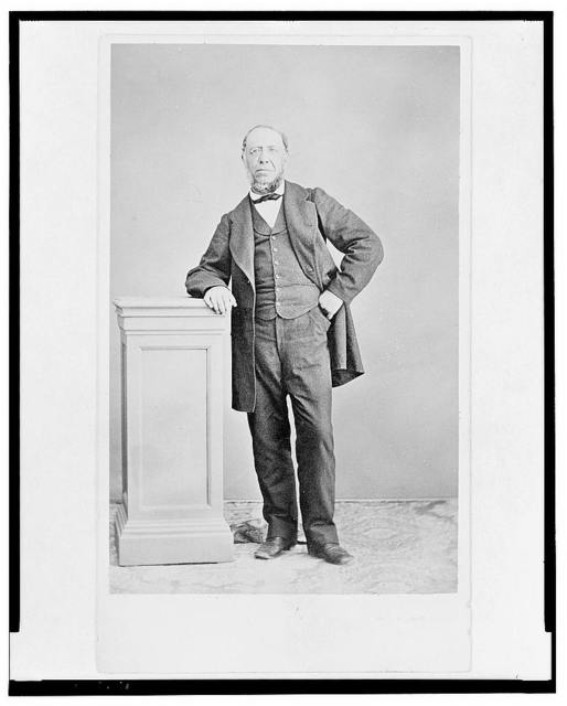 [Jose Maria Lacunza, full length portrait, standing, facing front]
