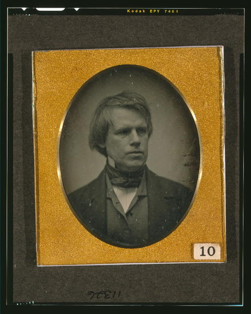 [Josiah Johnson Hawes, head-and-shoulders portrait, facing right]