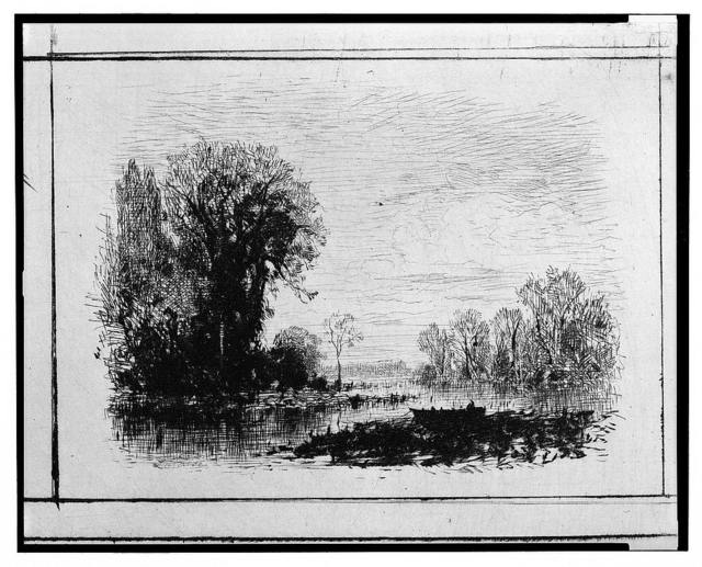 [Landscape with river] / Lalanne.