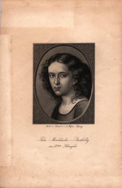 Mendelssohn at 12 years old