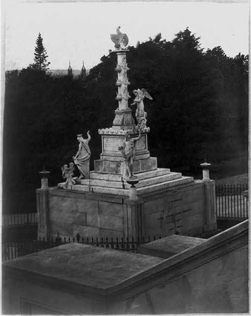 "Monument to the memory of the ""Herveor of Tripoli."" The birth of the American Navy, now at Naval Academy school, Annapolis, Md."