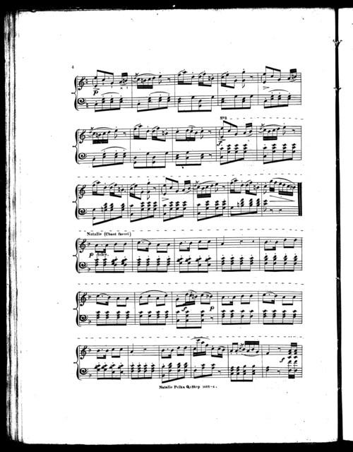 Natalie polka quick step, no. 1461