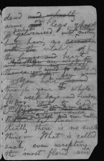 "Notebook LC #86 - ""Perceptions or Senses"""