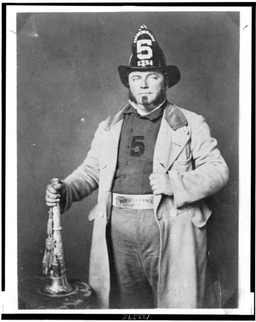 [Portrait of fireman from the Perseverance Hose Company]