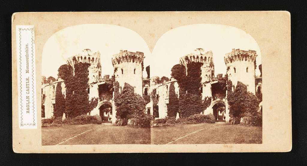 Raglan Castle, Monmouthshire