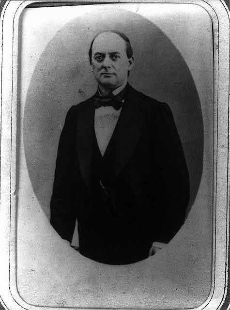 [Sebastián Lerdo de Tejada, half-length portrait, standing,  facing front]