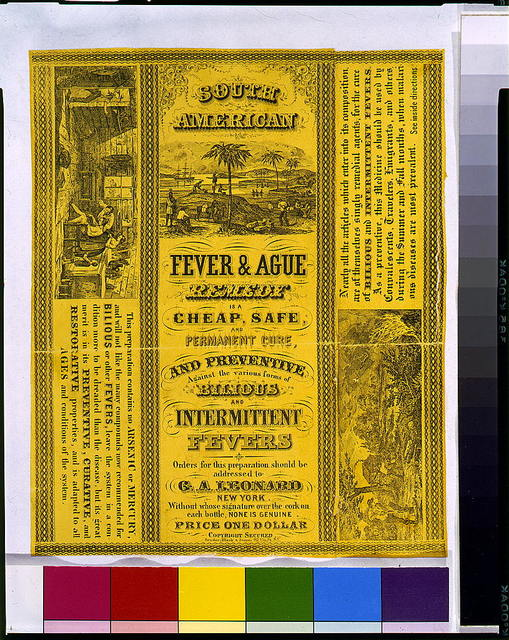 South American fever & ague remedy is a cheap, safe ...