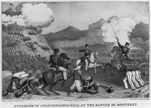 Storming of Independence Hill at the Battle of Monterey / Kelloggs & Thayer, N.Y. ; E.B. & E.C. Kellogg, Hartford, Conn. ; D. Needham, Buffalo.