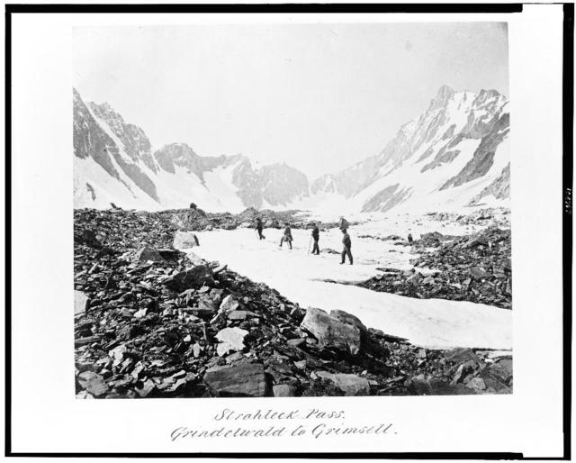 Strahleck Pass. Grindelwald to Grimsell