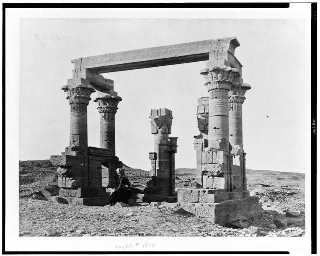 [Temple at Qirṭāsī, Egypt]