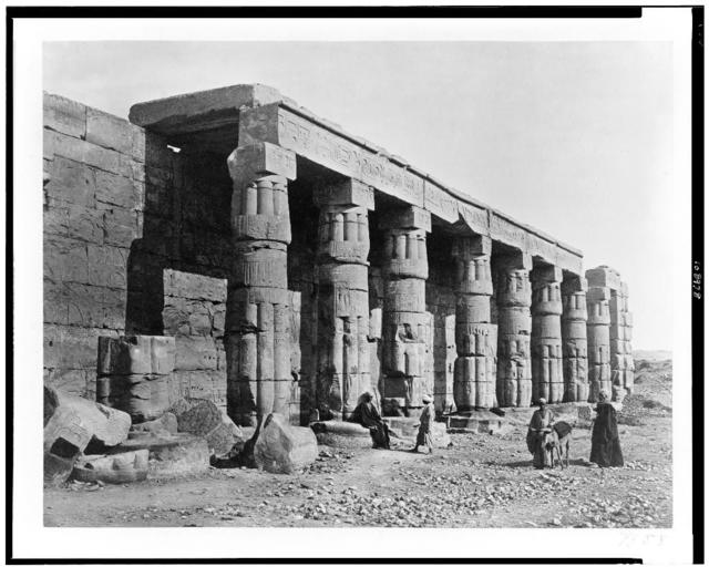 [Temple of Gurneh, Thebes]
