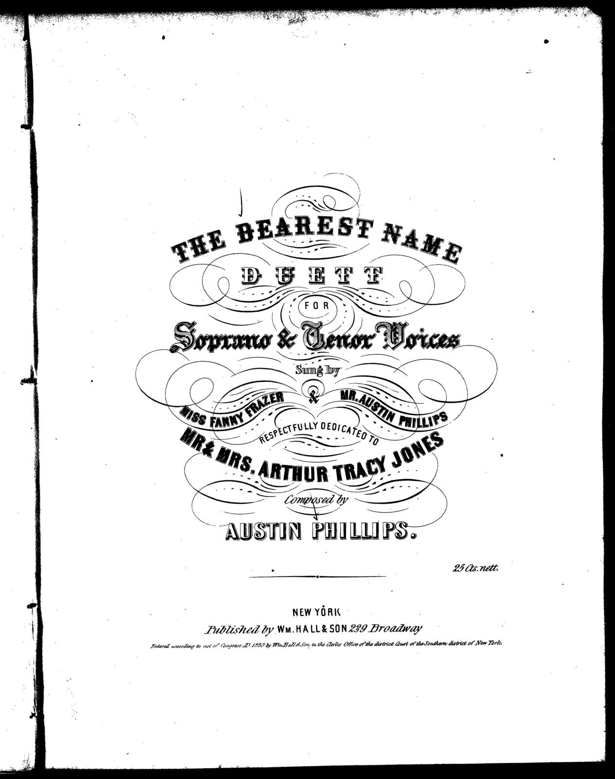 The  dearest name