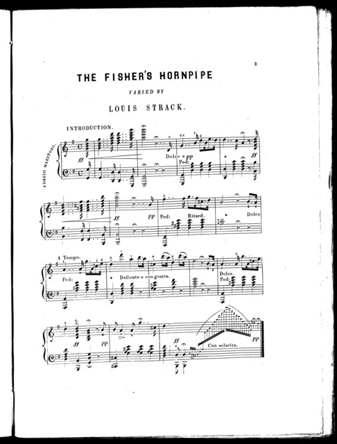 The  fisher's hornpipe