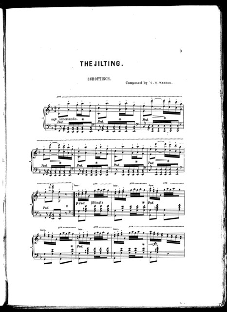 The  jilting schottisch, op. 11
