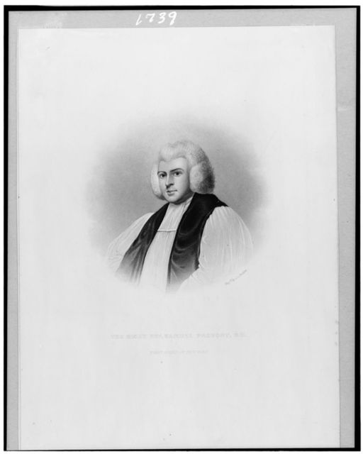 The Right Rev. Samuel Provost [i.e. Provoost], D.D., first bishop of New York / Engd. by J.C. Buttre.