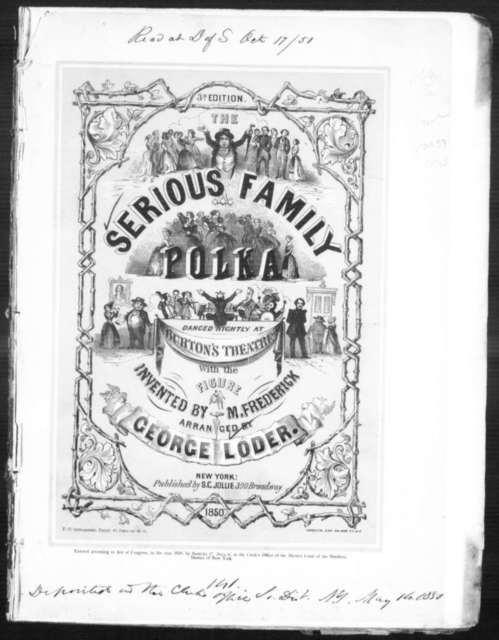 The  serious family polka