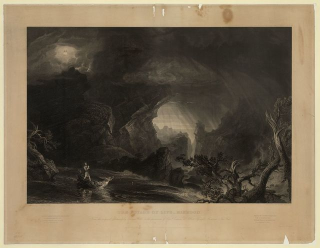 The voyage of life - manhood / painted by Thomas Cole ; engraved by James Smillie.