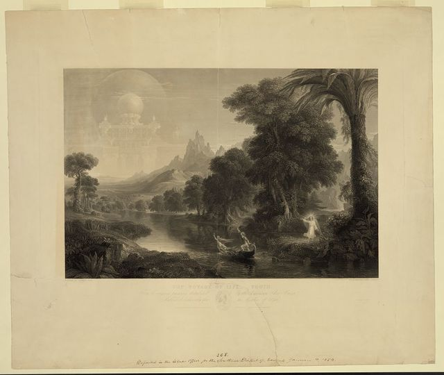 The voyage of life - youth / painted by Thomas Cole ; engraved by James Smillie.