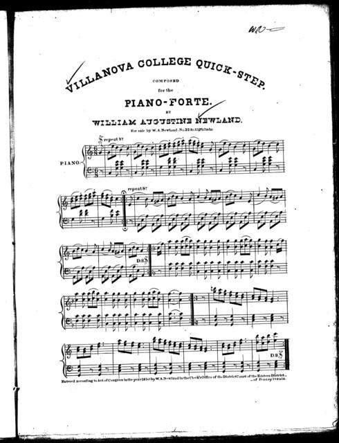 Villanova College quick-step