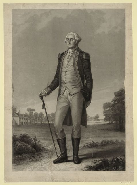 Washington / painted by T. Hicks N.A. ; engraved by H. Wright Smith.
