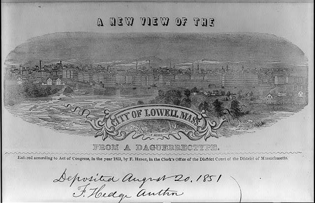 A new view of the city of Lowell, Mass