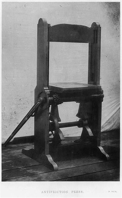 Antifriction press