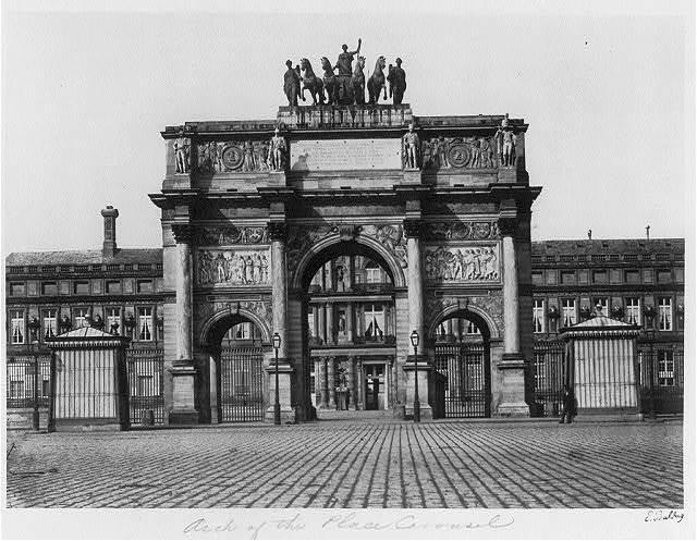 [Arc de Triomphe du Carrousel] / E. Baldus.