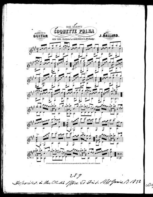 Coquette polka