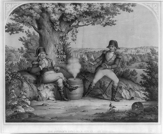 Gen. Putnam's duel with the British officer
