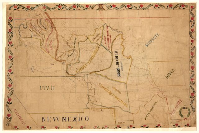 [Map of the upper Great Plains and Rocky Mountains region] /