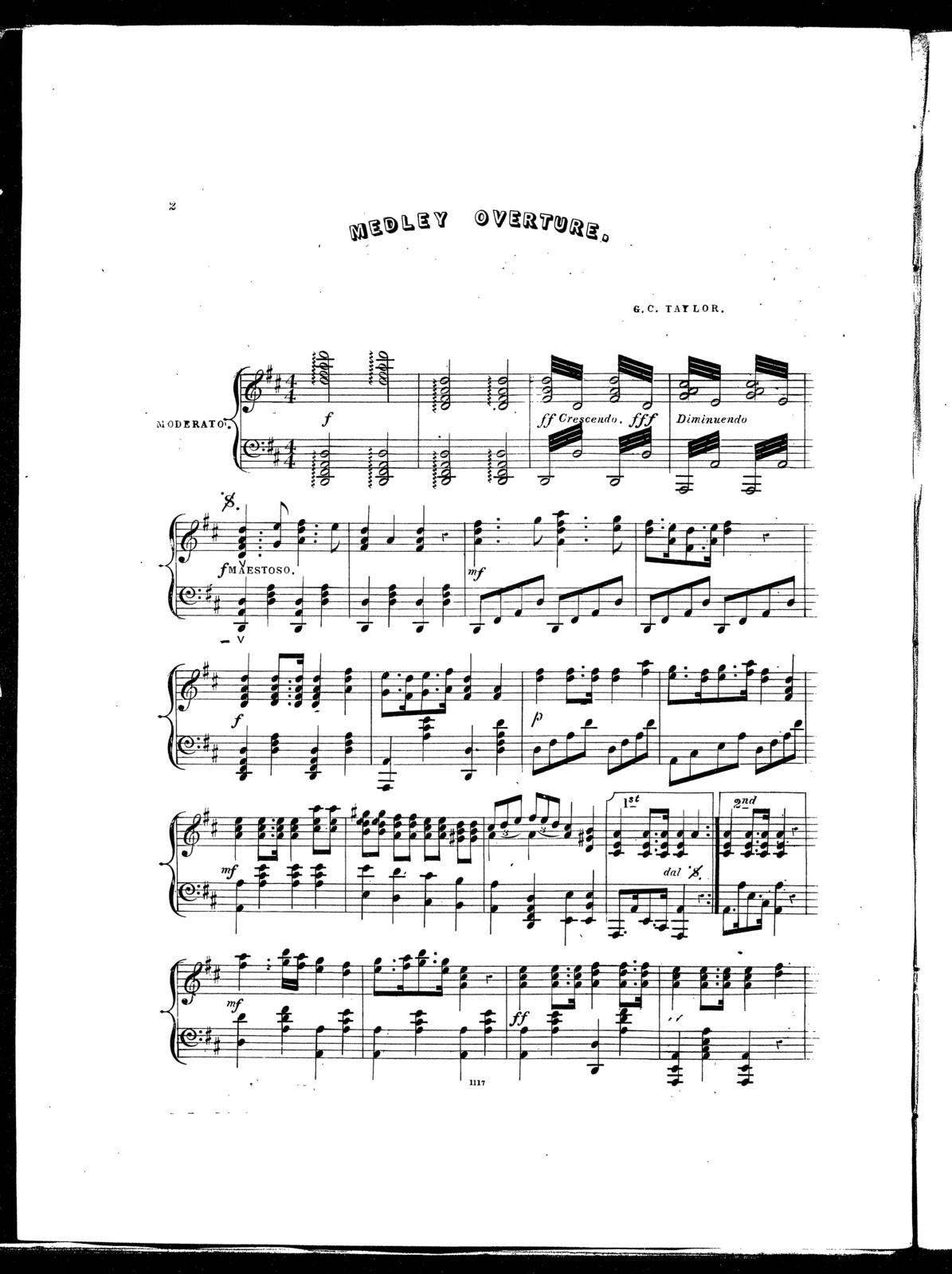 Medley overture