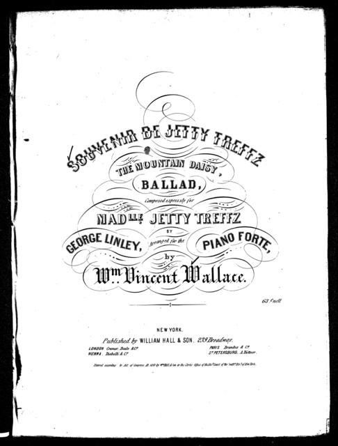 Souvenir de Jetty Treffz, The mountain daisy