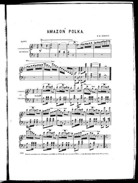 The  amazon polka