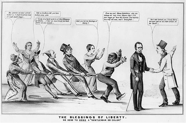 """The blessings of liberty or how to """"hook"""" a """"gentleman of color"""""""