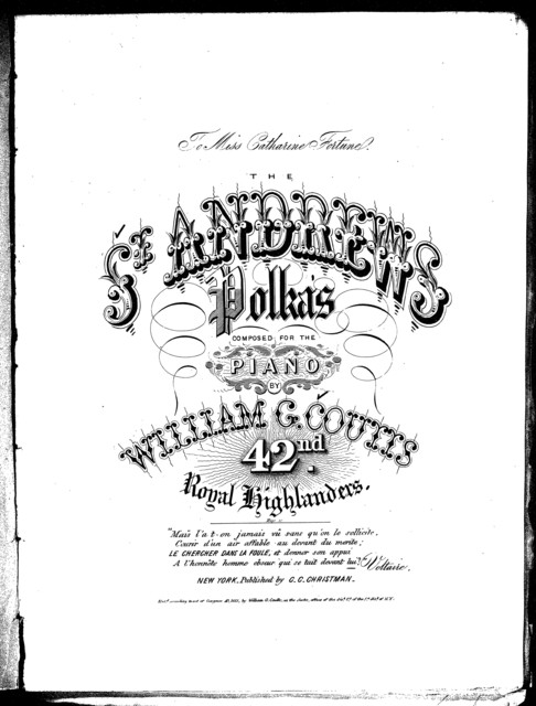 The  St. Andrews polka's
