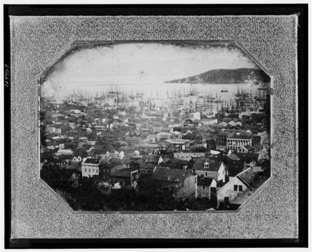 [View of San Francisco harbor]