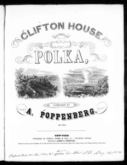 Clifton house polka