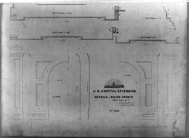 Details of boiler fronts