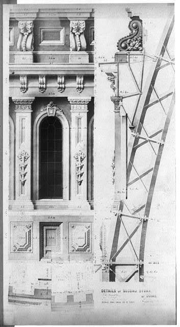 Details of second story of dome