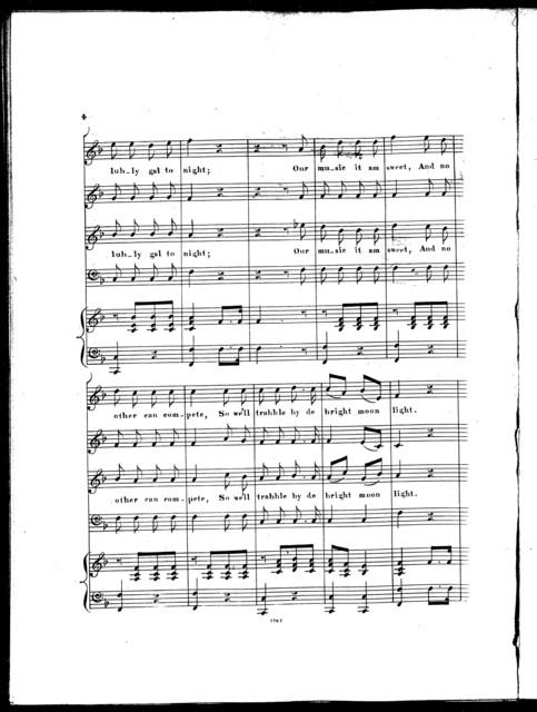 Dinah's serenade, new Ethiopian melody