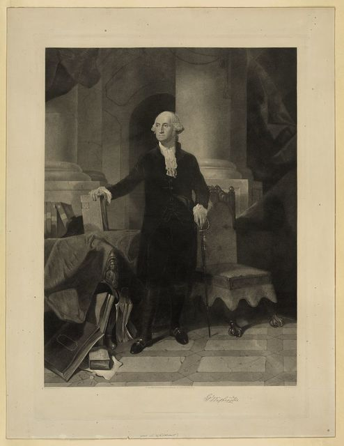 G. Washington / P.F. Rothermel pinx ; A.H. Ritchie sc.