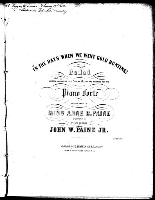 California galop - PICRYL Public Domain Image