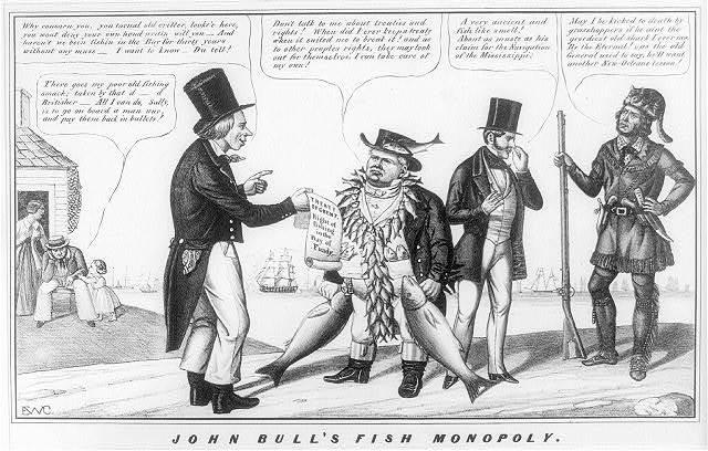 John Bull's fish monopoly