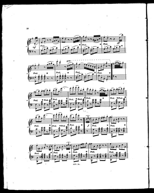 Le  rv̊e d'amour, Henrietta polka with variations, op. 247
