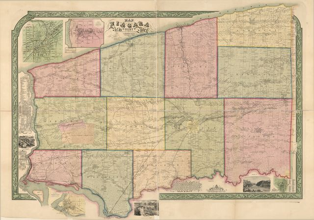 Map of Niagara County, New York /