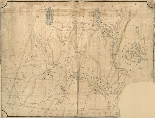 [Map of the town of New Hartford, Litchfield Co., Conn.].