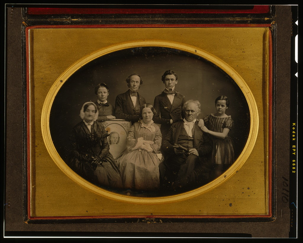 [Portrait of the Prime family]