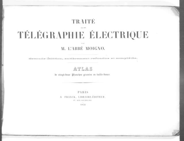 Telegraph---1852-1856