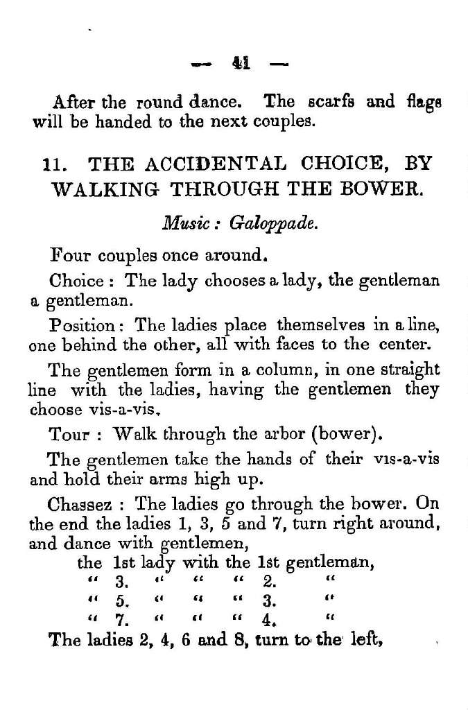 The ball room guide being a compendium of the theory, practice, and etiquette of dancing, embracing the newest quadrilles, polkas, waltzes, schottisches, &c., also, the Meyen quadrille