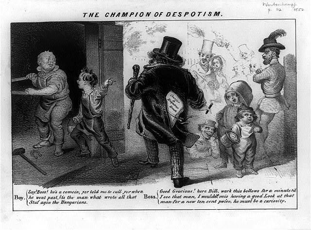 The champion of despotism